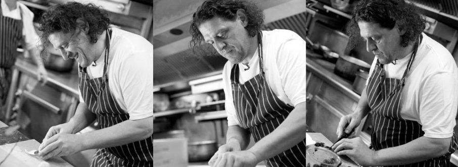 Fino feast with Marco Pierre White and Izway wines