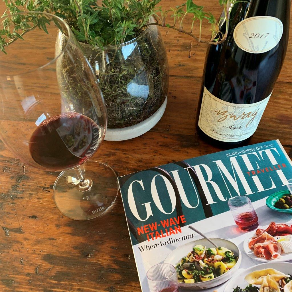 Gourmet Traveller and Izway Wines